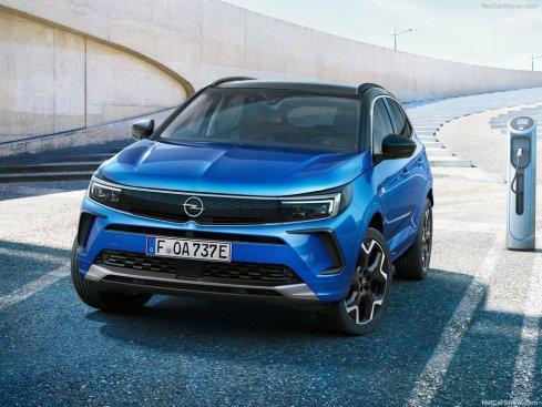 face avant Opel Grandland 2022