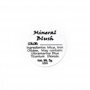 Blush Ingredient Label