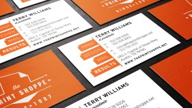 Business Card/Branding for The Print Shoppe