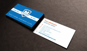 Mitchamore Agency Business Cards