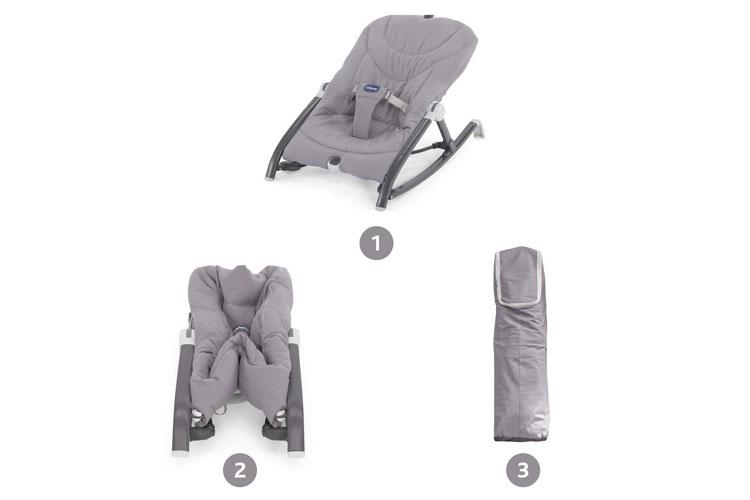 chicco pocket relax transat bebe test
