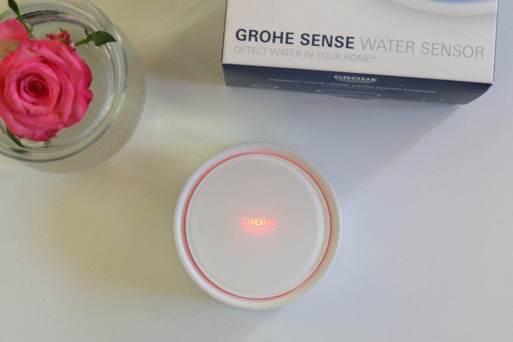 J'ai testé le détecteur de fuites Grohe Sense
