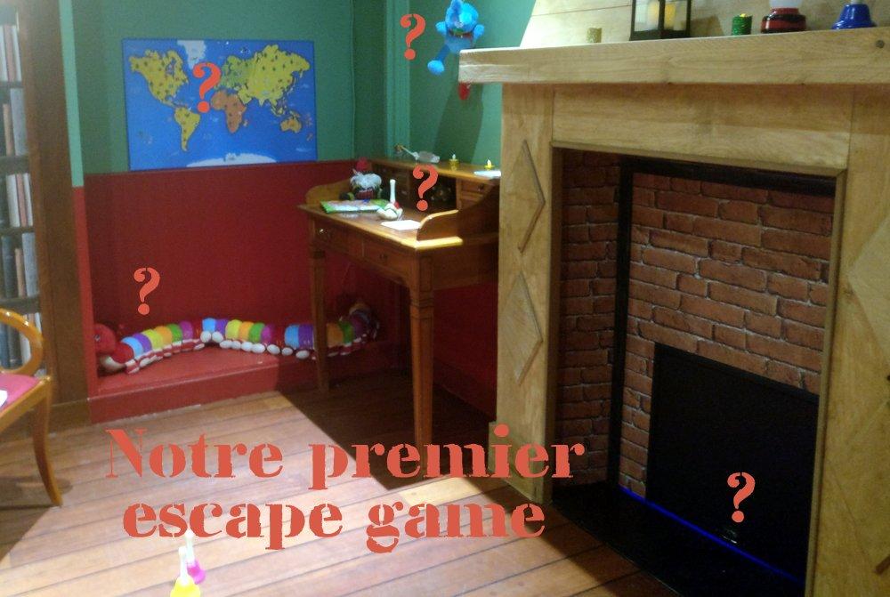 Notre premier escape game avec les enfants