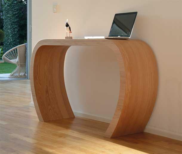 sidebow console design en bois