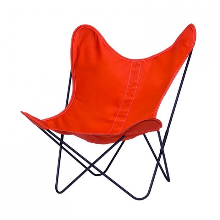 fauteuil aa butterfly en toile mandarine aa new design