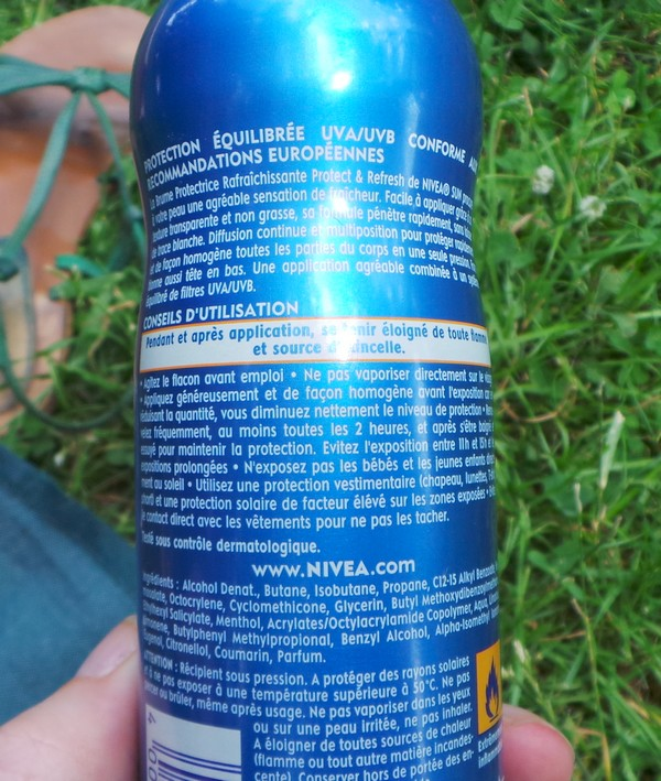 nivea sun protect & fresh 2