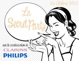 flyer Secret Party