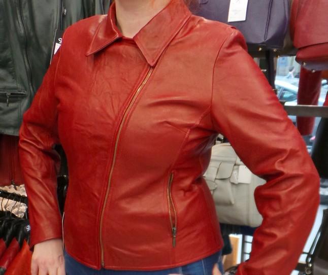 blouson fashion cuir
