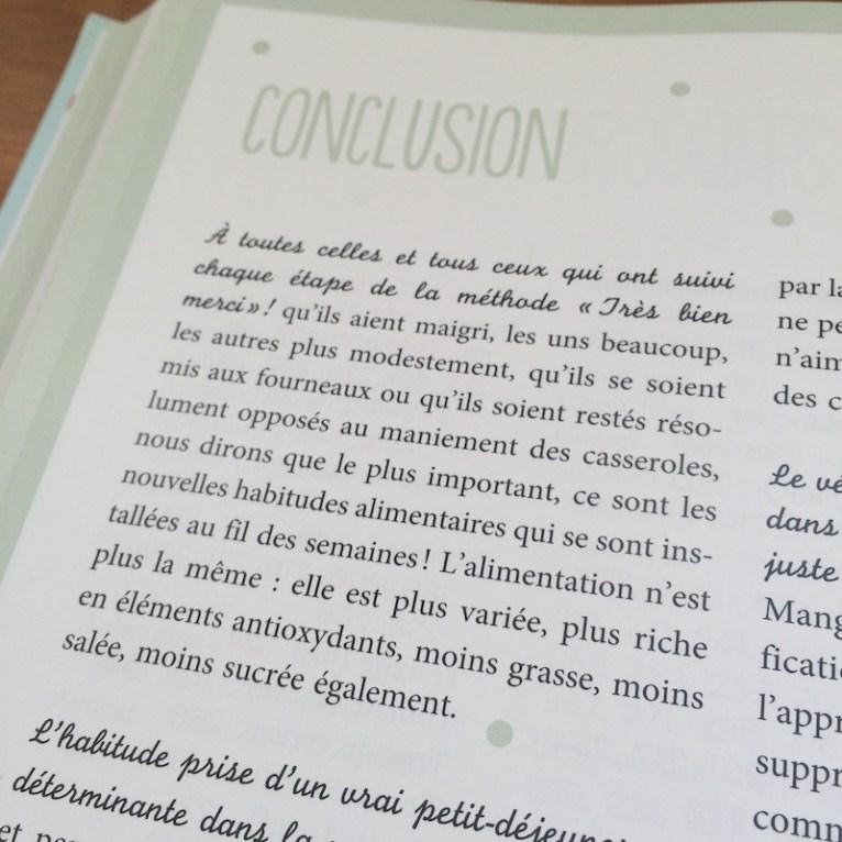 Livre Le nouveau coaching minceur et bienetre Methode Tres bien merci 35