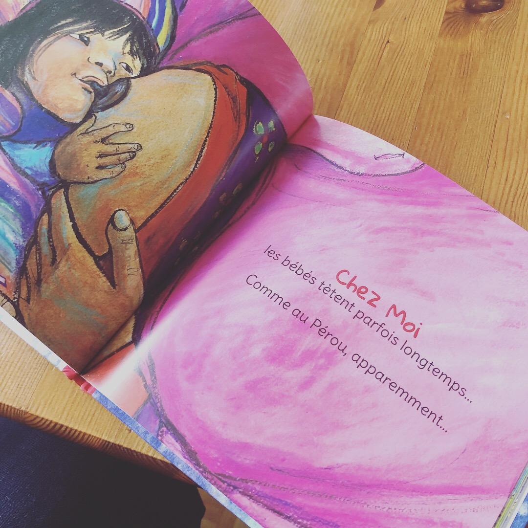 Livre Chez Moi : l'allaitement long
