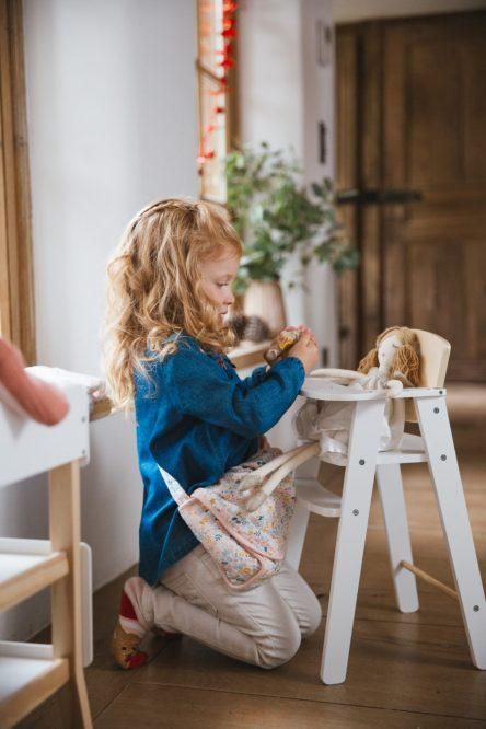 Jeux d'imitation en bois pour poupée - collection jeux en bois VertBaudet 2019