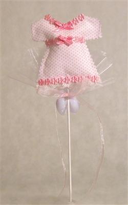 Kızımın Puanlı Elbise Şekeri