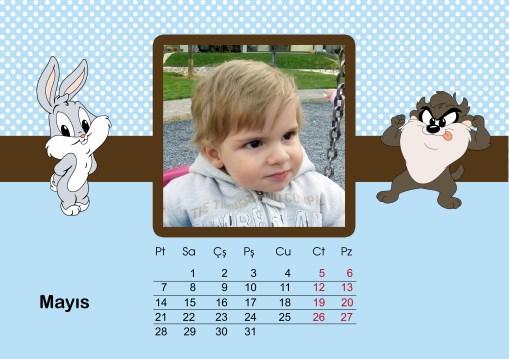 Oğlumun 2012 Masa Takvimi 3