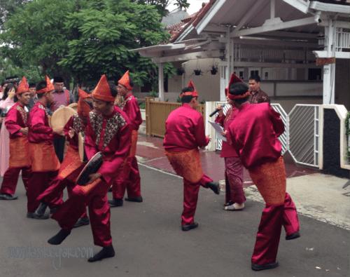 """terbangan """"rudat"""" """"pengiring pengantin Palembang"""""""