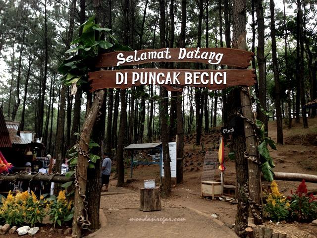Puncak Becici Yogyakarta