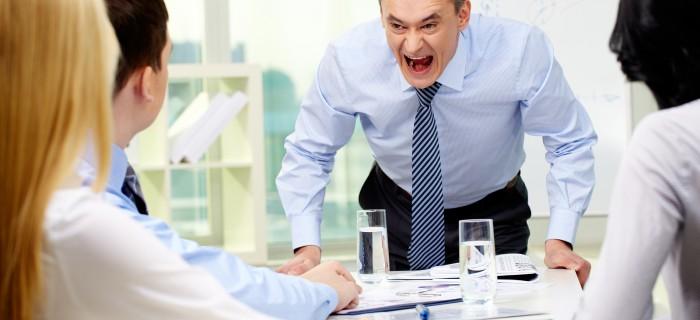 Vadītājs nekontrolē emocijas. Ko darīt?