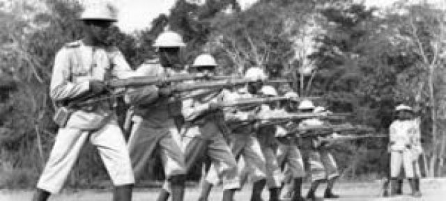 Kenyan fighters during WWII