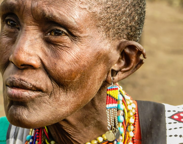Maasai Woman in Kenya