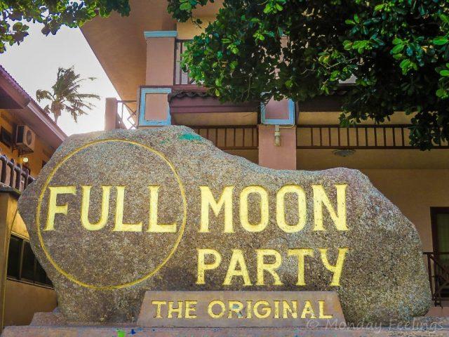 Full moon party 2019