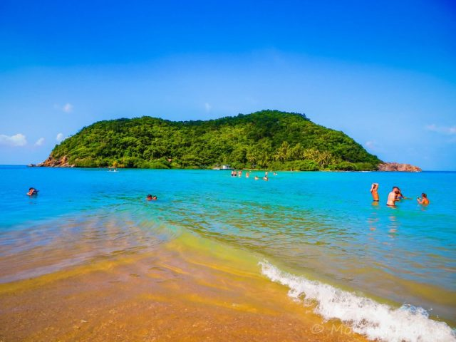 Full moon party 2019 and the north part of Koh Phangan island in Thailand