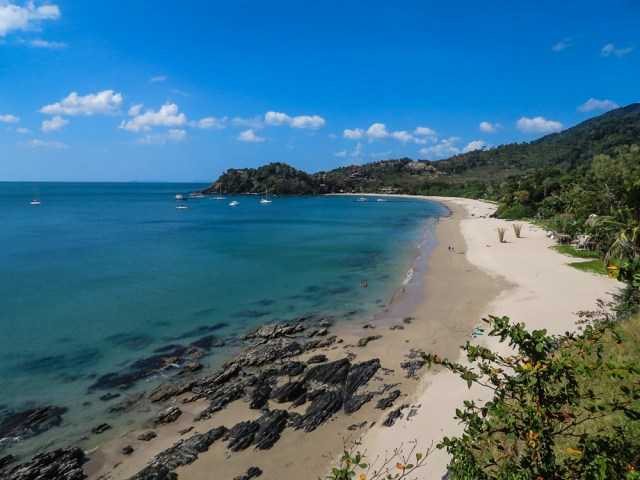 One of the deserted beaches of Thailand