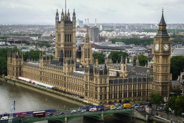 Ver o Parlamento do Reino Unido é uma das atividades para fazer em Londres