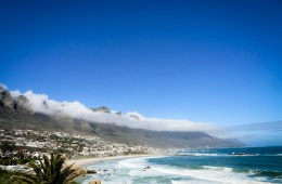 Camps Bay one of Africa's most beautiful beaches