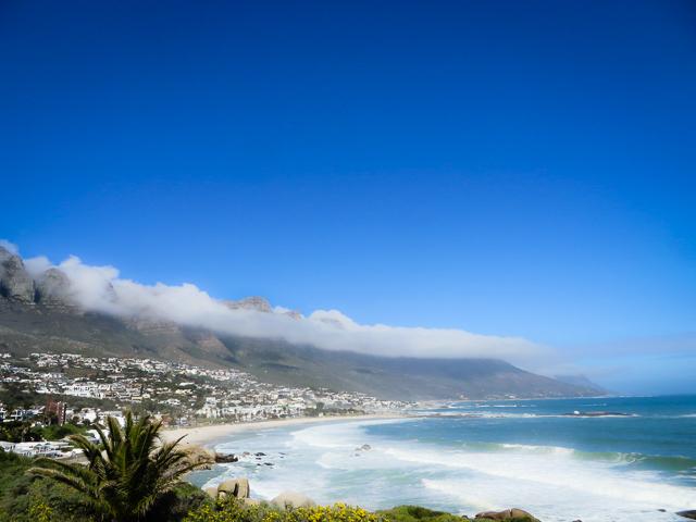 África do sul de motorhome