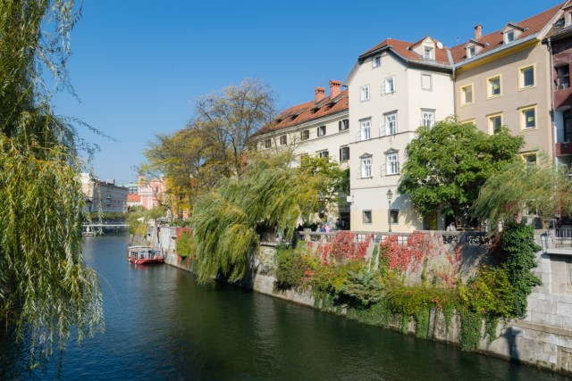 Ljubljana and Ljubljanica River