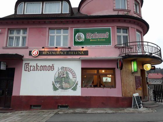 Restaurante Helena perto da estação de esqui Cerna Hora na República Tcheca