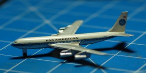 Pan American 707 1:600 scale by Schabak