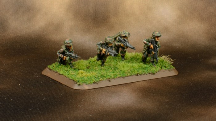 Infantry in Woodland BDU 10