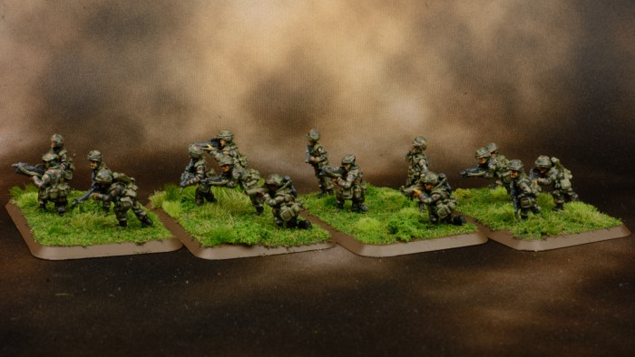 Infantry in Woodland BDU 14