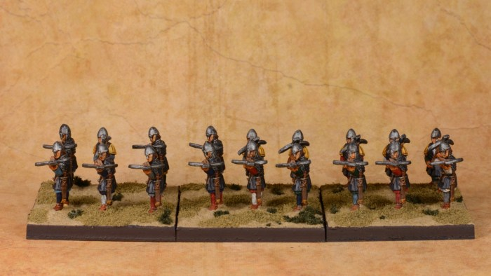 Hospitaller Sergeants  with Crossbow 2