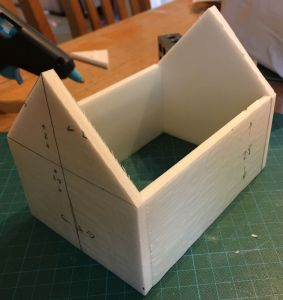 Making a 28mm Fantasy Cabin 2