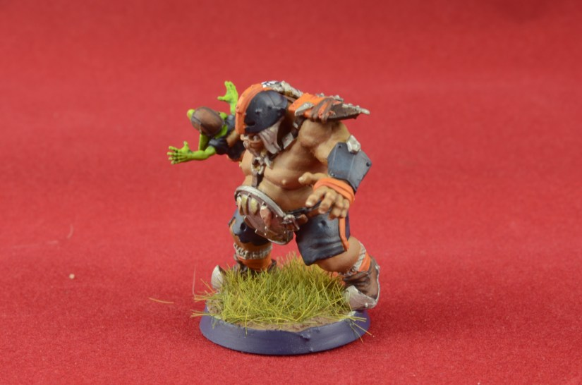 Painting the Ogre Blood Bowl Team 3