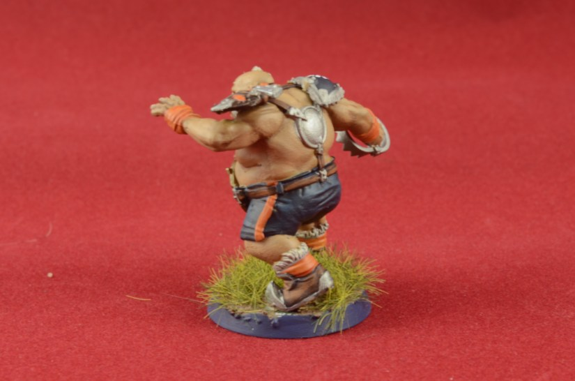 Painting the Ogre Blood Bowl Team 17