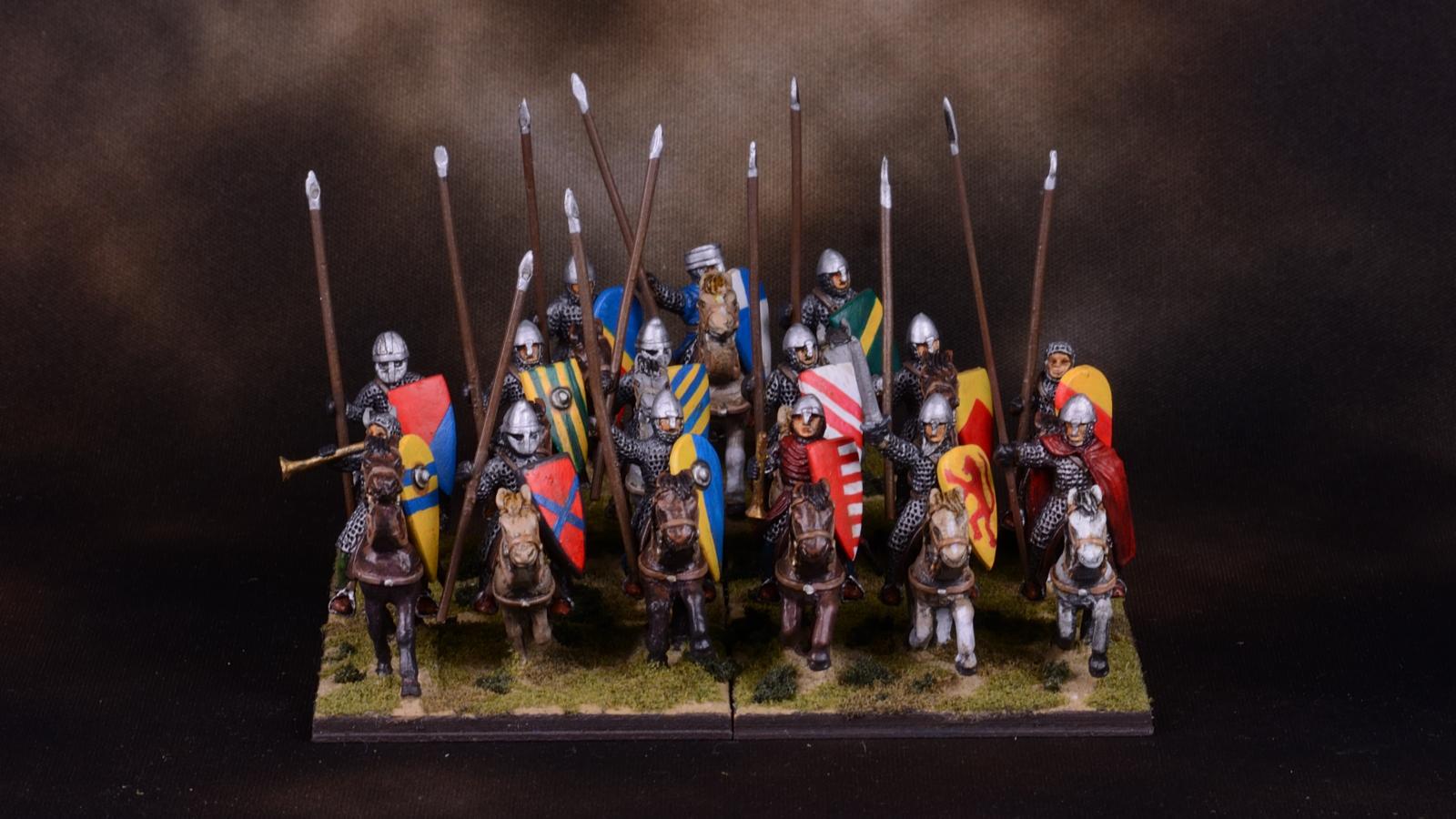Crusader mounted knights 16