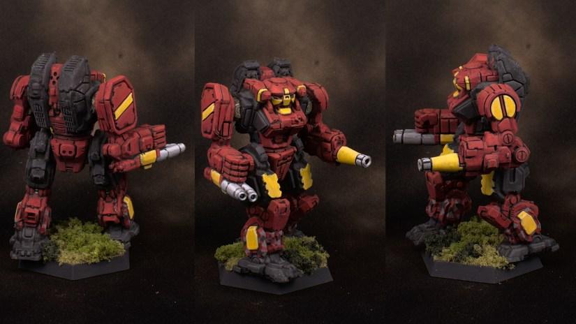 4 Clan Blood Scorpion mechs 1