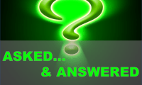 Asked…& Answered!