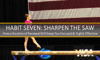 The Seven Habits for Attraction Leaders – Part Seven: Sharpen the Saw