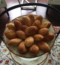 Rosemary parmesan Madeleines