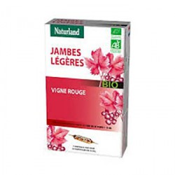 Vigne Rouge Bio AMPOULES Naturland