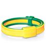 Bracelet anti moustique Jaune et vert dès 30 mois Mousticare