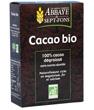 Cacao bio Pur 100% cacao non sucré Abbaye de Sept Fons