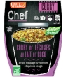 Chef Curry Lait de Coco Riz complet Quinoa rouge Vitabio