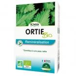 Ortie feuilles silicium bio 20 ampoules de Biotechnie
