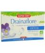 Drainaflore bio 20 ampoules de Super Diet
