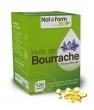 Huile de bourrache + vitamine E 120 Nat et Form