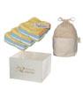 Kit Eco Net: 15 débarbouillettes lavables en Bambou couleur + filet + boite de Les Tendances D Emma